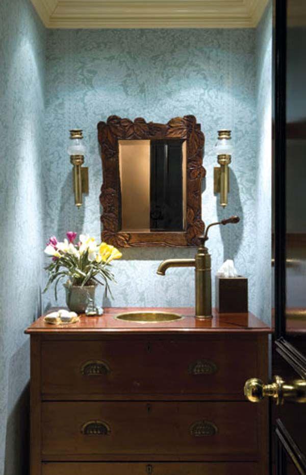 Powder Room Ideas Rustic Crafts Chic Decor