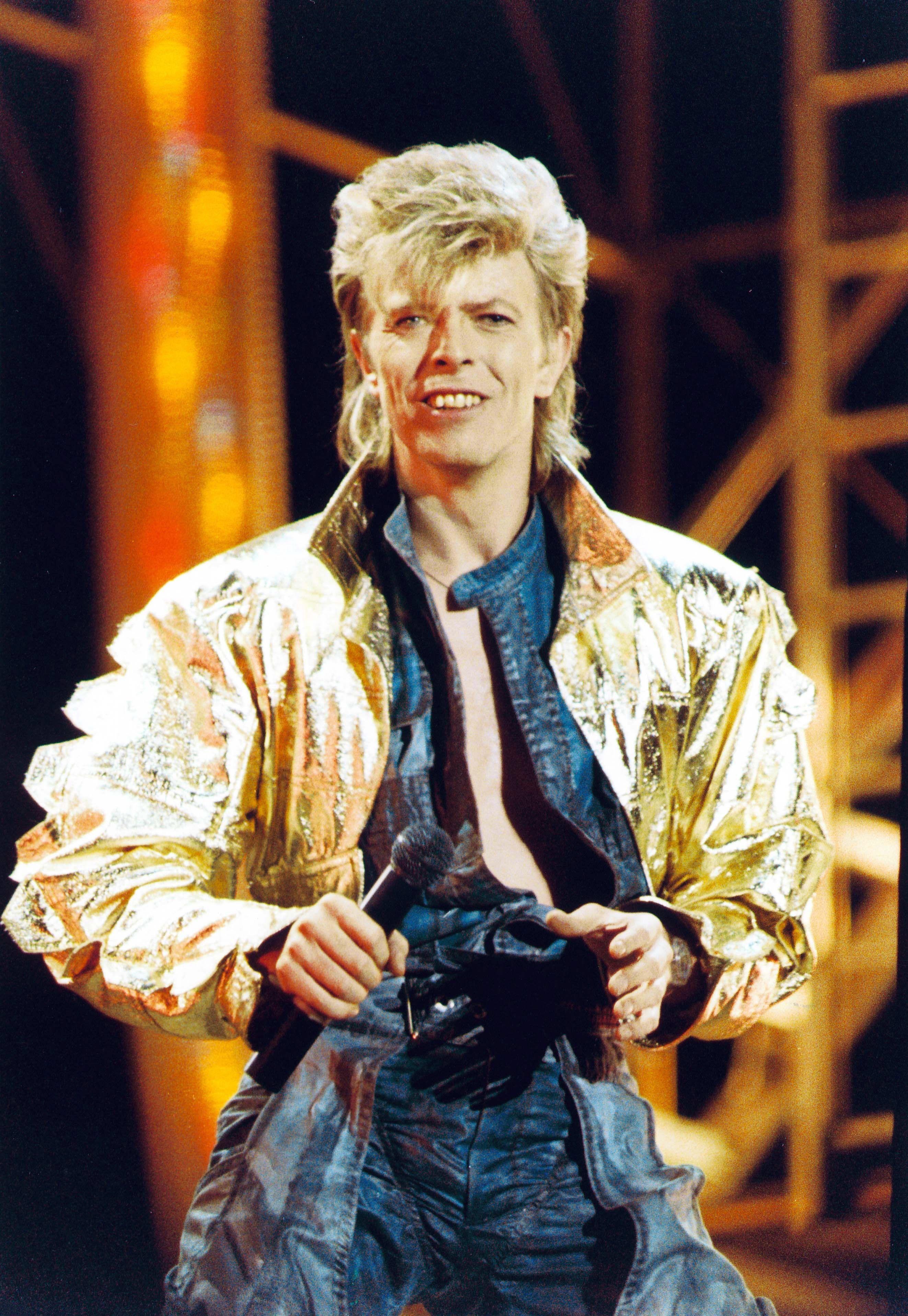 David Bowie Glass Spider Tour 1987