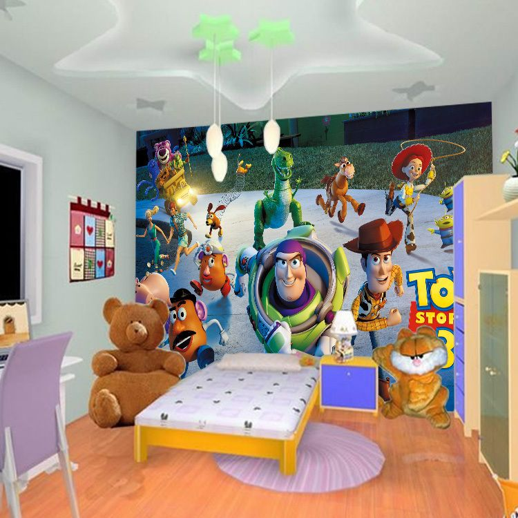 Best Custom Photo Wallpaper 3D Large Mural Bedroom Children 400 x 300
