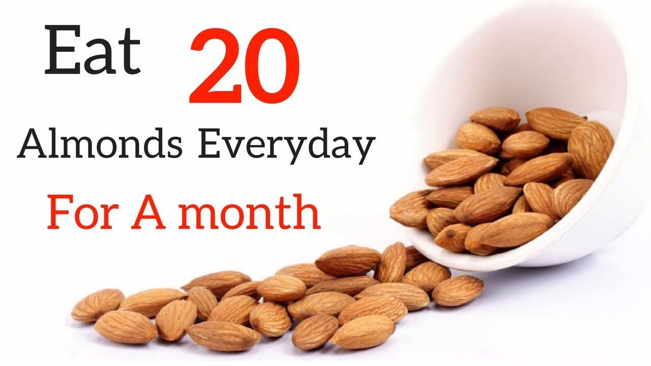 Image result for eat almonds every day