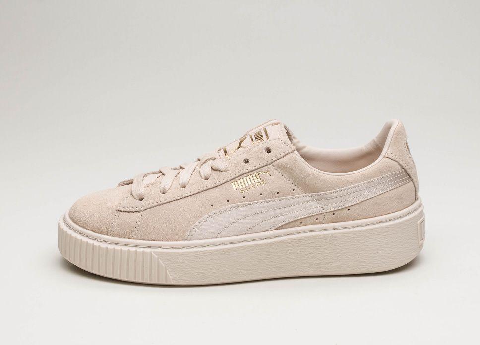 f0002e73f48d Puma Suede Platform Mono Satin (Pink Tint   Whisper White   Puma Team  lpu   sneaker  sneakers
