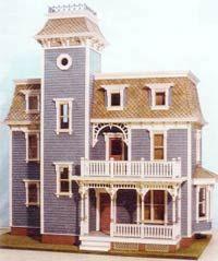 plans de maisons miniatures la maison victorienne. Black Bedroom Furniture Sets. Home Design Ideas