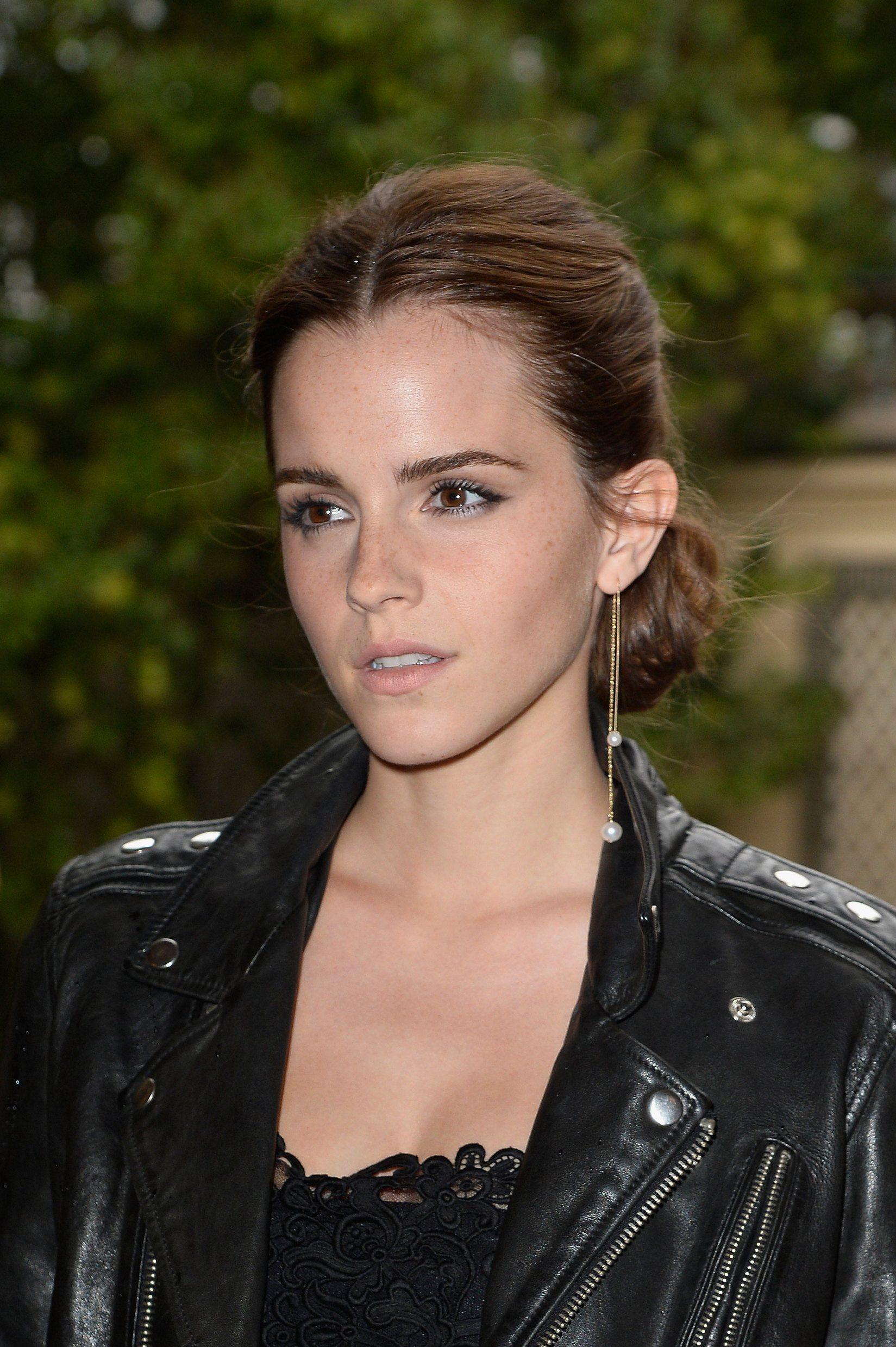Earrings Emma Watson Fashion Week (con imágenes) Emma