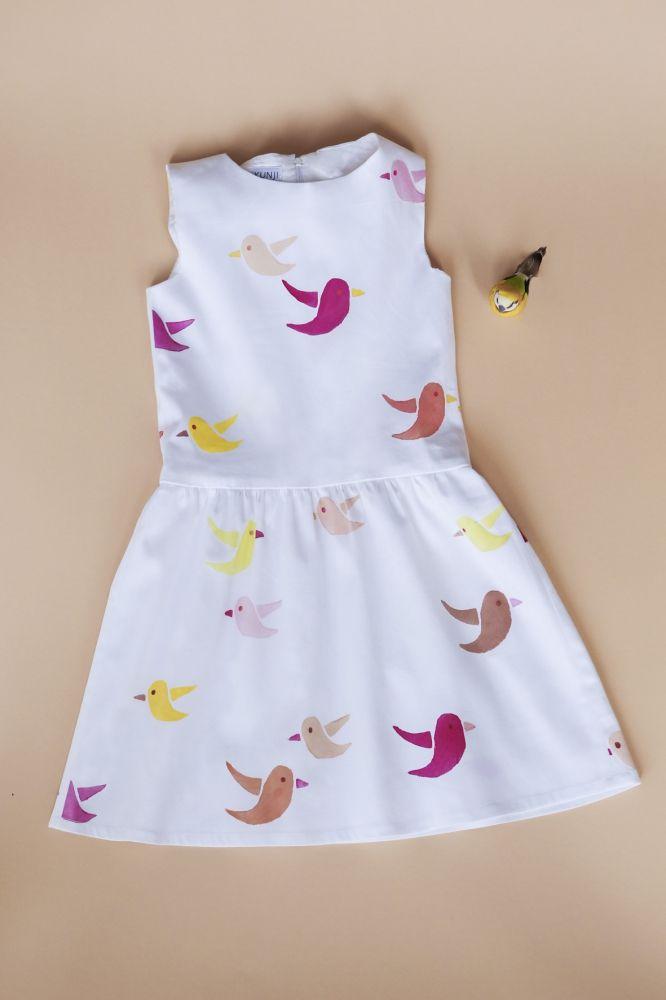 Kostenlose Anleitung: Kleid - Initiative Handarbeit | Kinderkleidung ...
