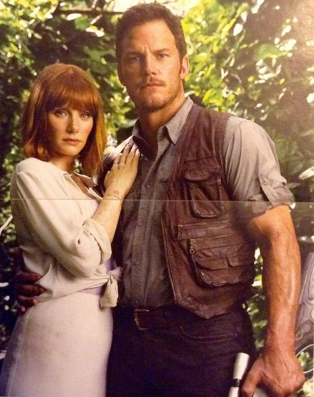 Esses dois...perfeitos ❤ Jurassic World