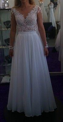 Suknia Slubna Muslin Siatka Transparentna Koronka Prom Dresses Formal Dresses Dresses
