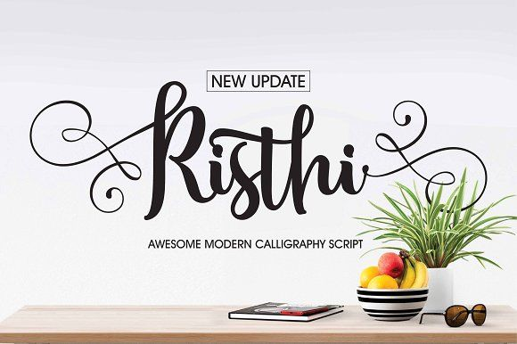 Risthi Script by Rabbittype on @creativemarket