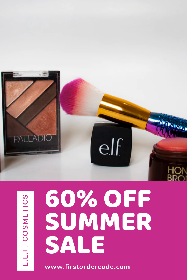 E.l.f Cosmetics Sale Elf cosmetics, Cosmetics sale