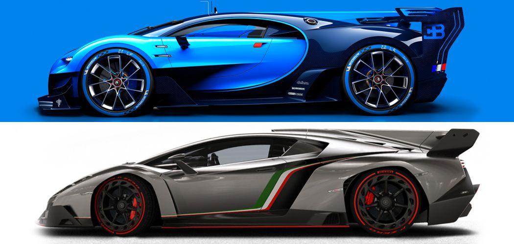 Whatu0027s The Single Commonality Between Insane Supercars Like The Bugatti  Vision GT, Lamborghini Veneno And