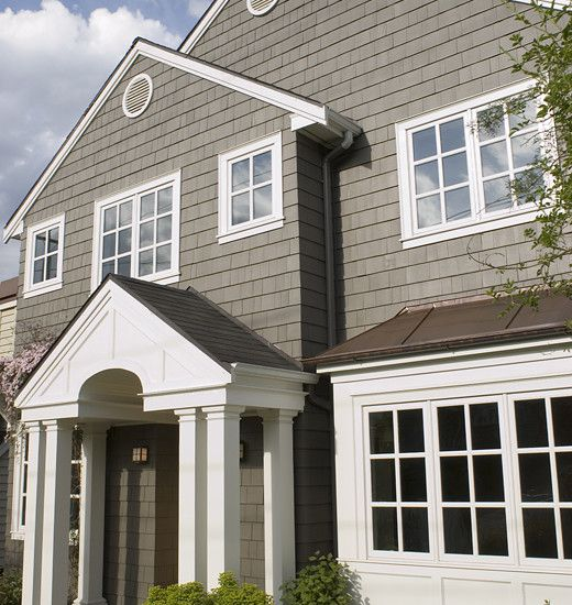 Similar colors are spalding gray 6074 and pure white 7005 by sherwin williams paint colors for Keystone grey sherwin williams exterior