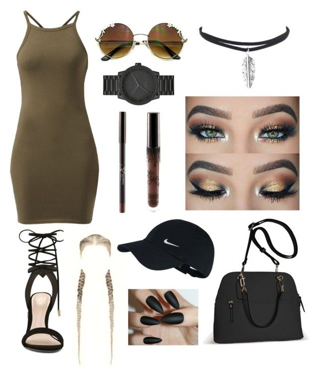 """Dress💅🏽"" by jazzicat ❤ liked on Polyvore featuring ALDO, Avenue, LEFF Amsterdam and NIKE"