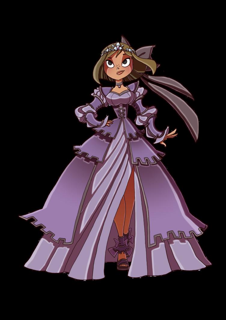 Courtney the Princess by Kikaigaku Total drama island