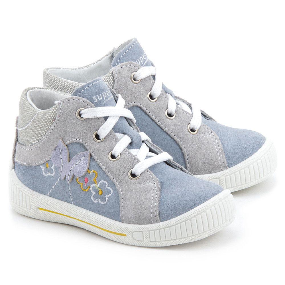 Superfit Cooly Szare Zamszowe Trzewiki Dzieciece 4 00042 24 Girls Shoes Kids Shoes Children Shoes