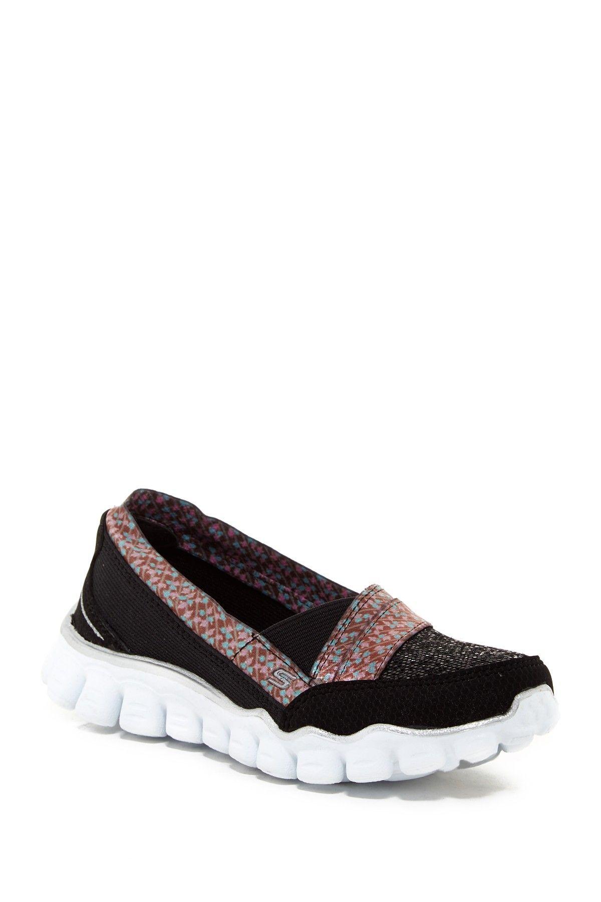 Skech Flex II - Quipster Slip-On Sneaker (Little Kid)