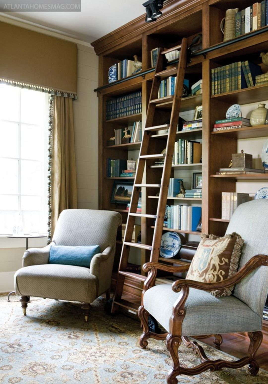 Living Room Library Design Ideas: 25 Cozy Small Home Library Design Ideas That Will Blow