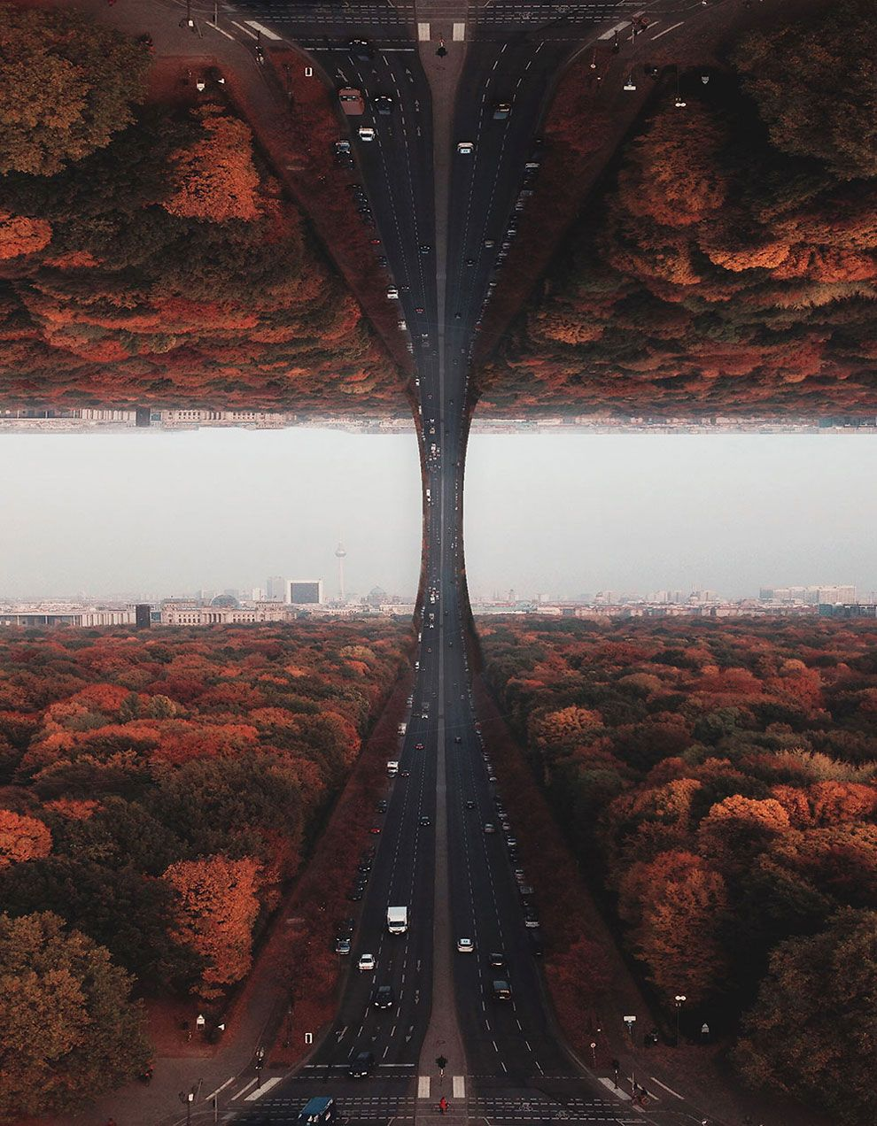 The Sky is Flat by Laurent Rosset | Photography | Surrealism