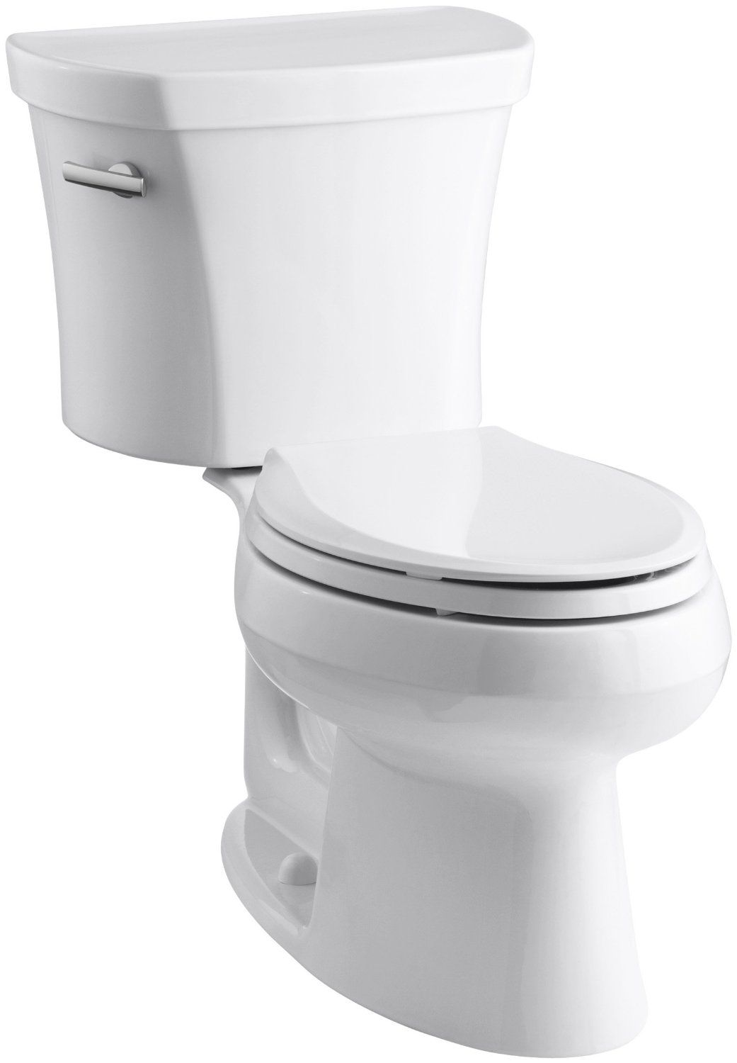Kohler K 3948 0 Wellworth Elongated 128 Gpf Toilet 14 Inch Rough
