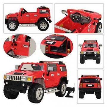 2015 licensed hummer h2 12v ride on car with remote control red let your
