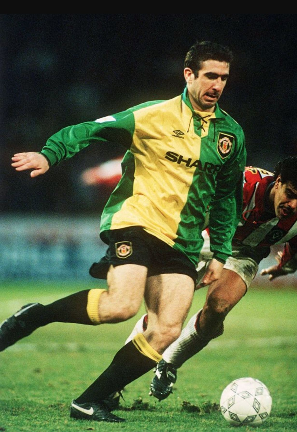 Panini euro 96 eric cantona #191 france rare nm/mt. Pin on Manchester United in Yellow and Green 92/94