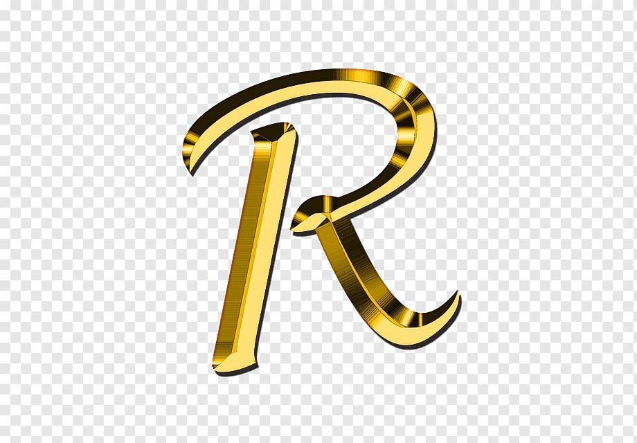 Gold R Logo Letter P Clolorful Letters Miscellaneous Text Number Png Initials Logo Design Letter Logo Design Lettering Alphabet Fonts