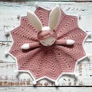 Llama crochet lovey | Inka The Little Llama security blanket | Crochet Pattern | PDF - PATTERN ONLY in English