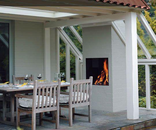Open Haard Tuin : Open haard openhaard fire fireplace outdoor tuin buiten