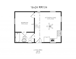 Image Result For Floor Plan Arched Cabin 16x24 Cabin Floor Plans Log Cabin Floor Plans Loft Floor Plans