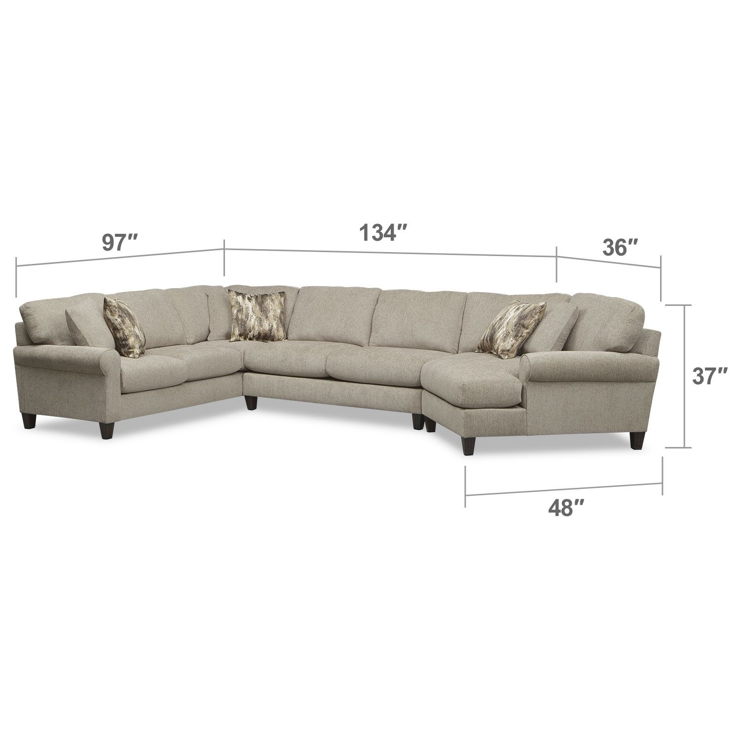 ashley furniture patola park patina 4piece small sectional with left cuddler furniture pinterest small sectional living rooms and room