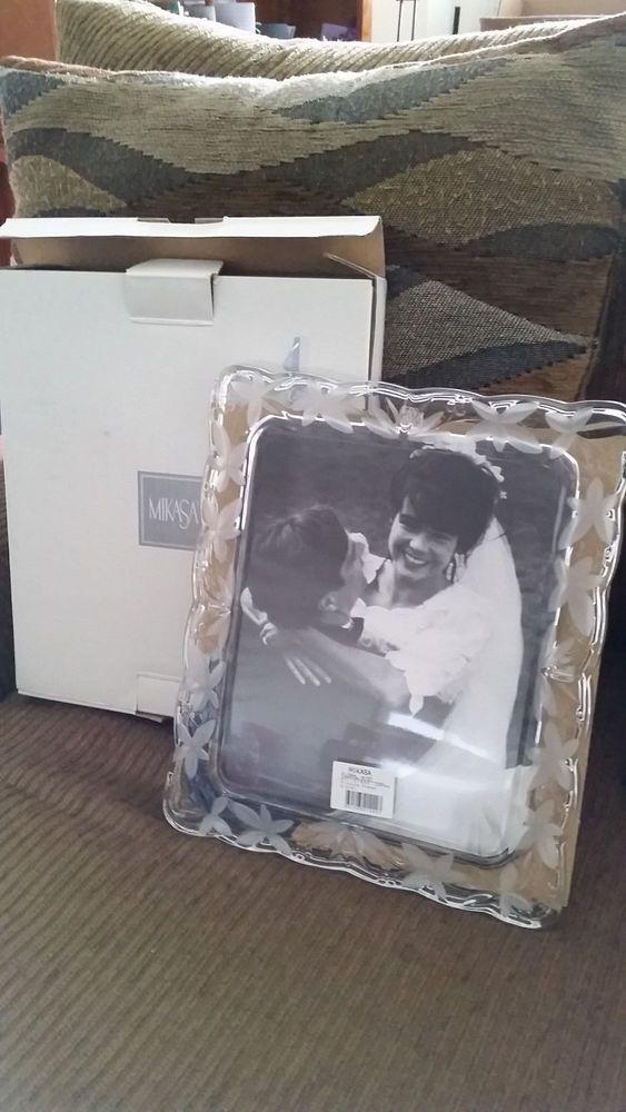 8 x 10 MIKASA Floral Mist Picture Frame #Mikasa #giftidea #wedding #weddinggift #frame #picture