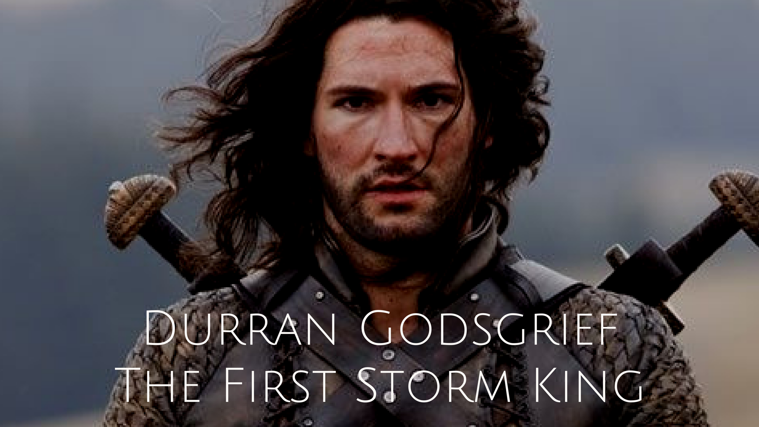 Durran Godgrief, The First Storm King Storm king, Black