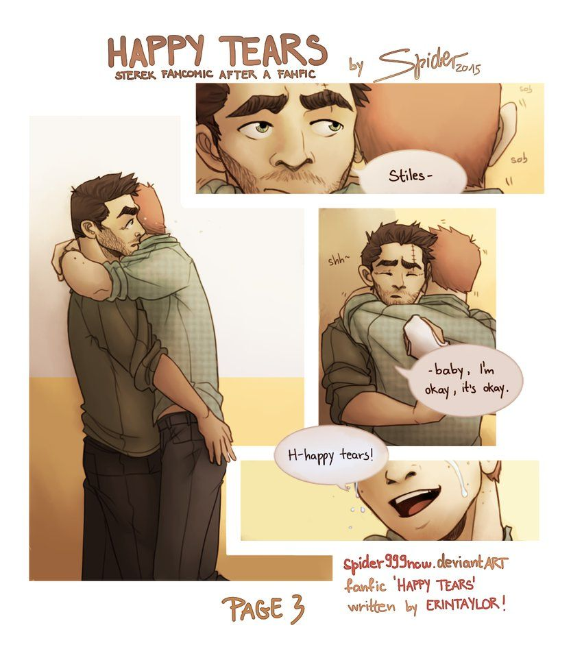 Sterek Comic- Happy Tears 3 by spider999now | fanfiction