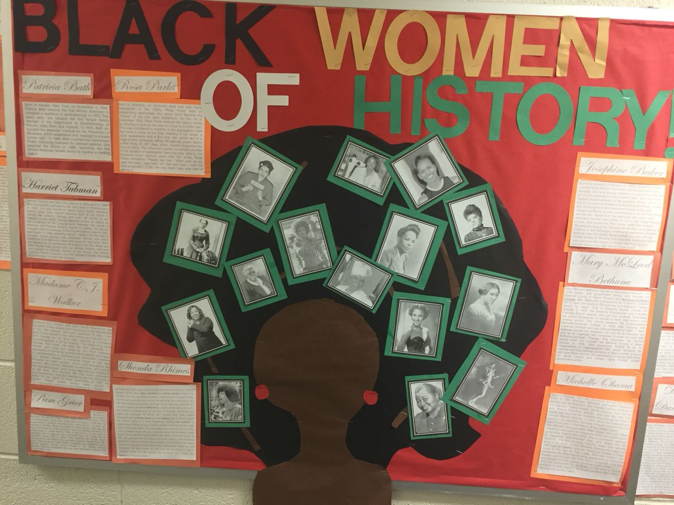 black history month bulletin board | ra ideas | pinterest | black