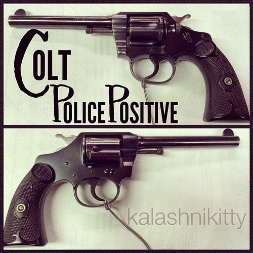 thekalashnikitty:  This @coltfirearms tested Police Positive for...