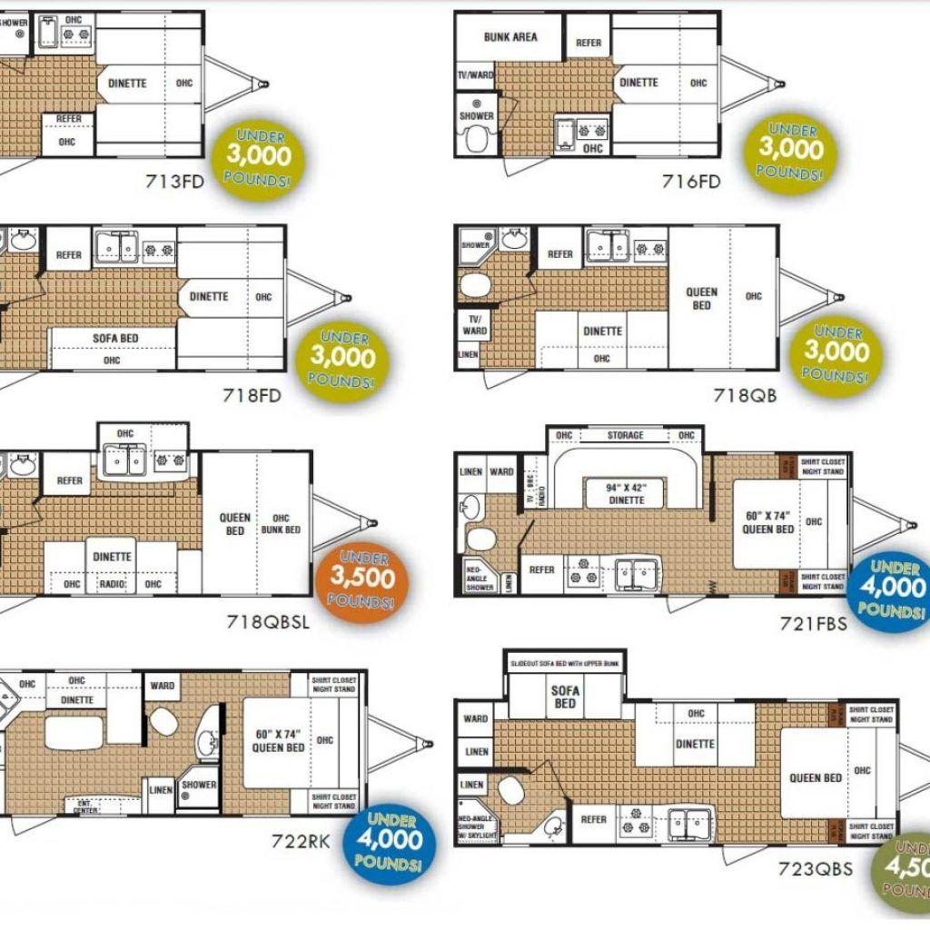 Small rv floor plans - Small Rv Trailer Floor Plans