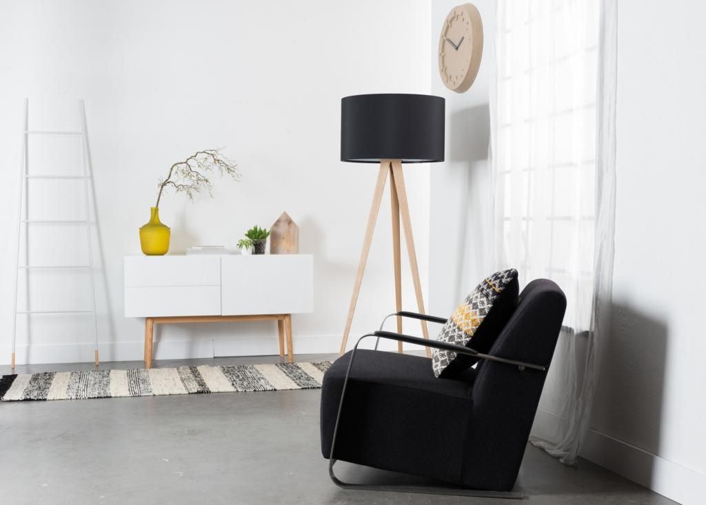 Schrank High On Wood 1 Ta R 2 Schubladen Zuiver Wood Floor Lamp Wood Cabinets Home Decor Color