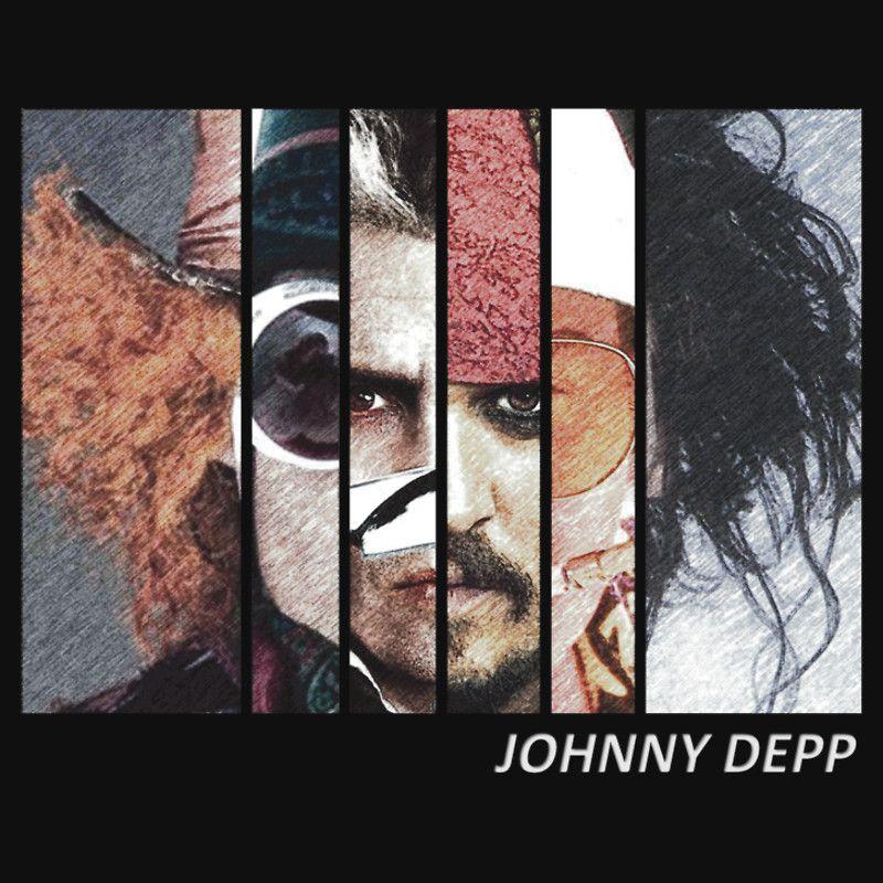 Johnny Depp Characters by 525Kiba
