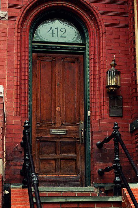 Interesting door in Capital Hill, Washington, D.C.