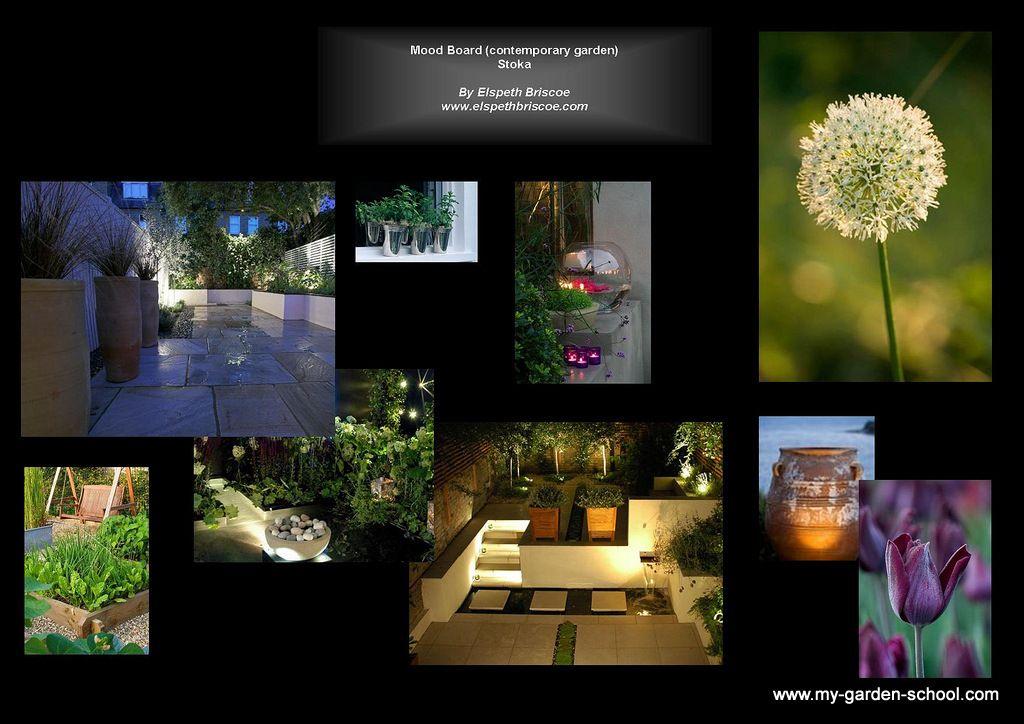 Garden Design Mood Board for a City Garden http://www.my ...