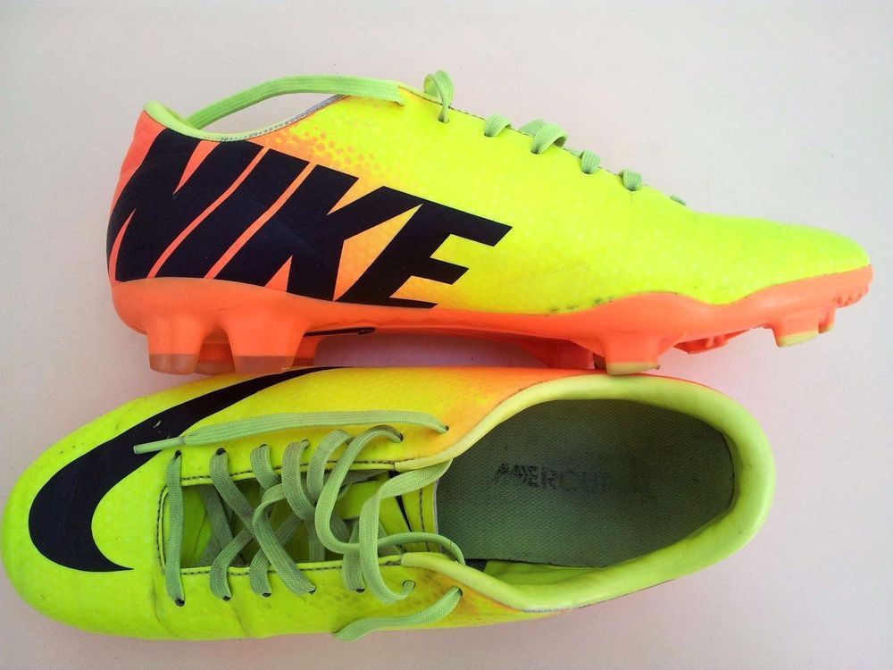 Nike #MERCURIAL VICTORY IV FG 555613 708 Mens Soccer Cleats Football Shoes  6.5 #Nike