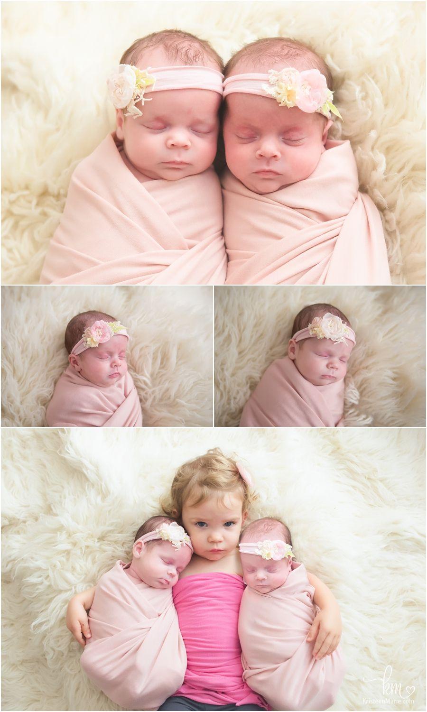 Twin girls and big sister