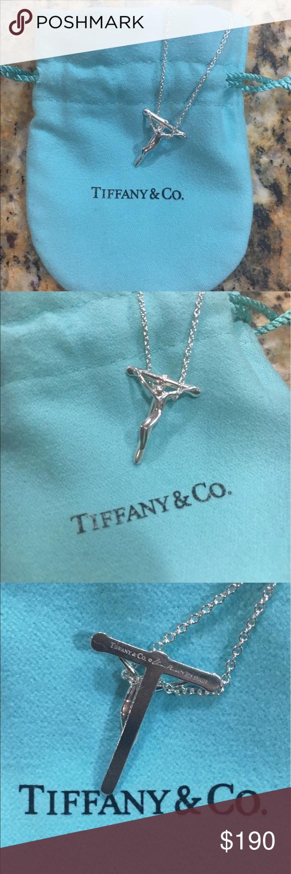 e7f33bd1f Elsa Peretti Crucifix Pendant * .925 Sterling silver * 16