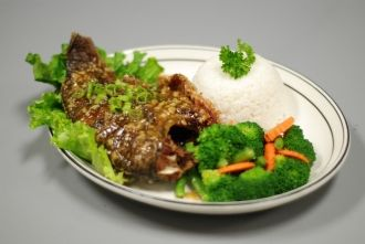 Fried Tilapia By Thai Taste Restaurant In Los Angeles Ca