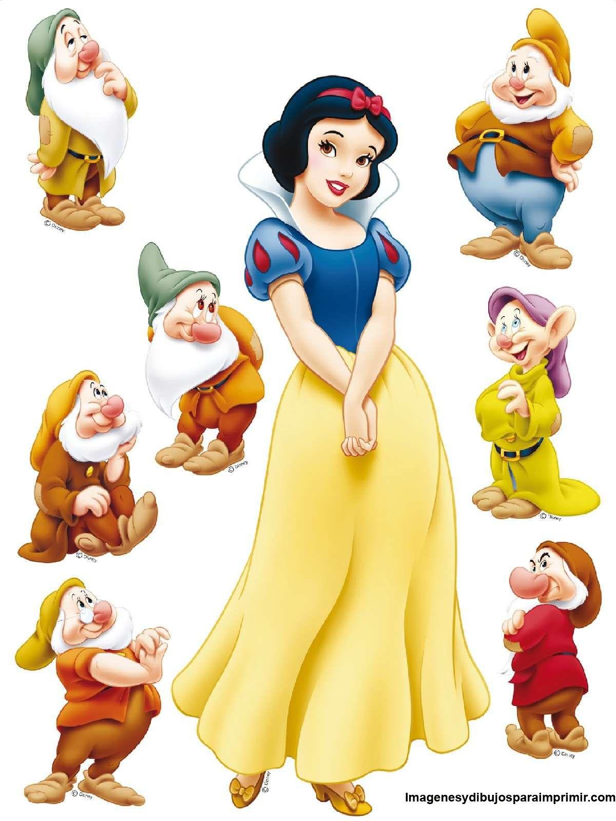 Snow White Free Printables Google Search Dibujo De Blancanieves Blancanieves Y Los Siete Enanitos Enanos De Blancanieves