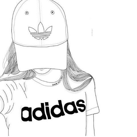 $39 adidas shoes on Twitter. Tumblr Girl DrawingTumblr ...