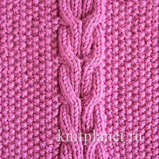 Двустороннее вязание в вязании на спицах