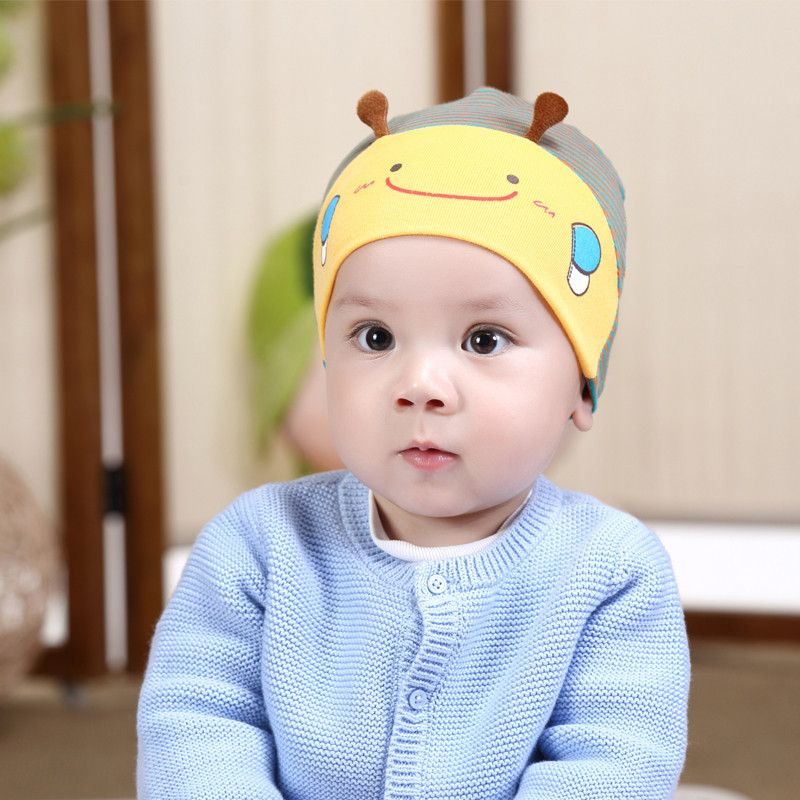5d7b461e3e6 hot baby photography props Cute Kid Baby Boy Girl Toddler Infant Hat Bee  Baseball Cap cotton kids hats baby bonnet topi bayi    Affiliate