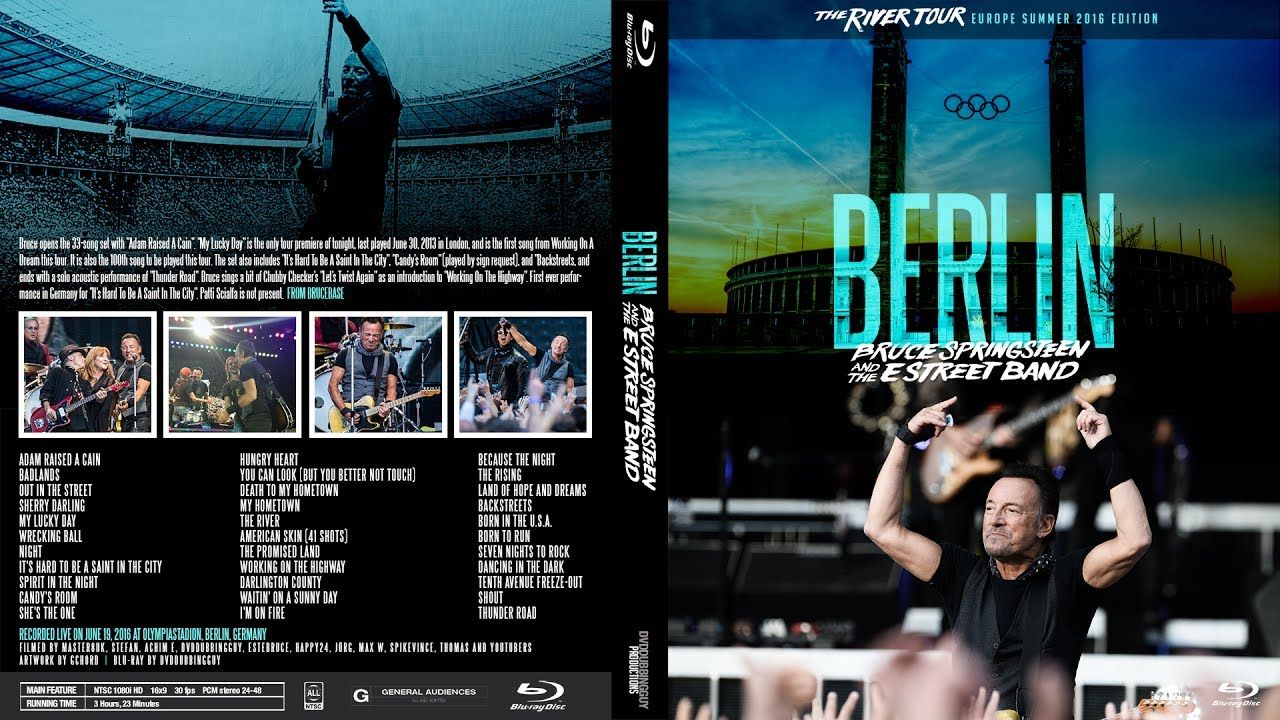 Bruce Springsteen Berlin 20160619 FULL SHOW BLURAY