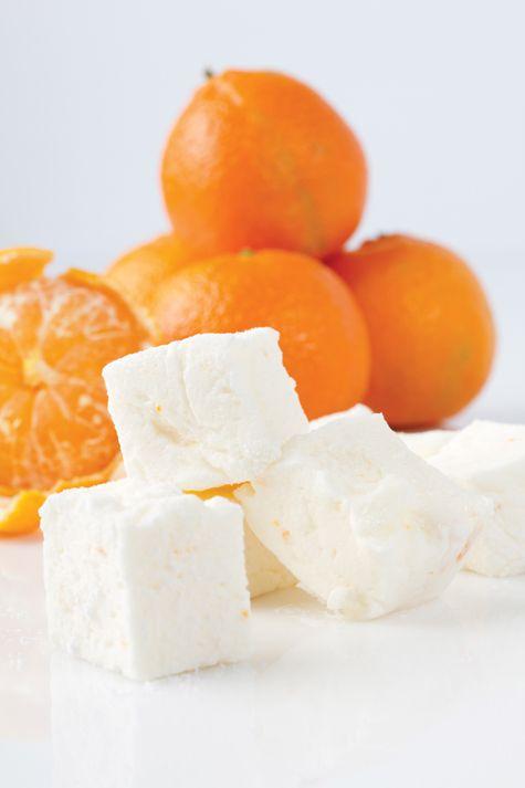 Clementine marshmallows