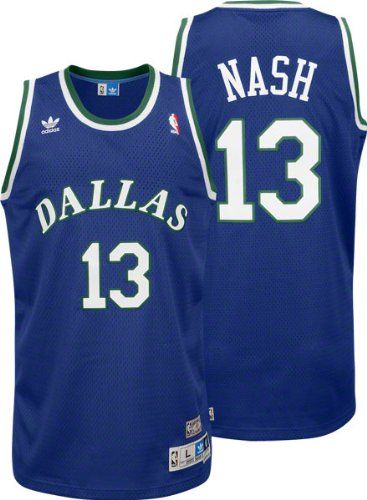 1aab650dc69 NBA adidas Steve Nash Dallas Mavericks Soul Swingman Throwback Jersey -  Royal Blue - http: