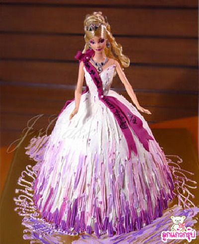 Pin By Amber White On Barbie Barbie Doll Cakes Doll Cake Barbie Dress Cake
